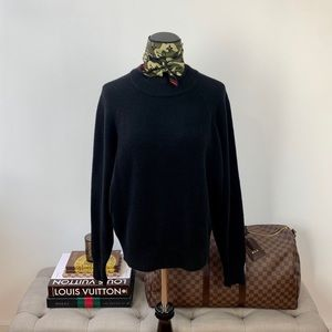 bp // Nordstrom Black Sweater Top Size Small